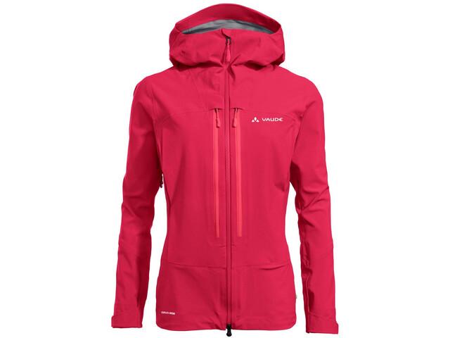 VAUDE Shuksan 3L Jacket Women, cranberry